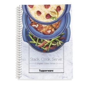 NWT Tupperware Stack Cooker Recipe Book